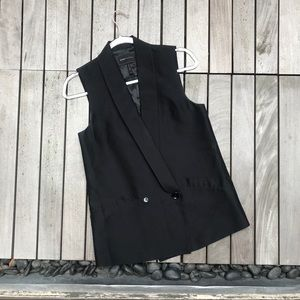 BCBGMaxAzria Single Button Double Breasted Vest